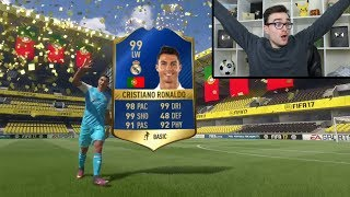 I'M GOING TO PACK RONALDO!!! Fifa 17 Pack Opening Live
