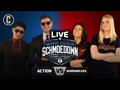 LIVE EVENT! Team Action VS Shirewolves - Movie Trivia Schmoedown
