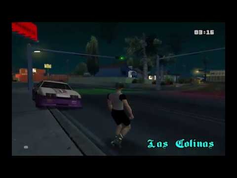 How to skate on SA-MP GTA-MULTIPLAYER.CZ