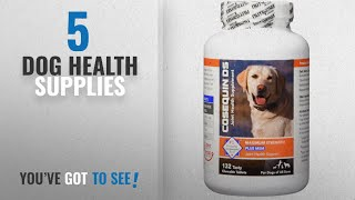Top 10 Dog Health Supplies [2018 Best Sellers]: Nutramax Cosequin DS Plus with MSM Chewable Tablets,