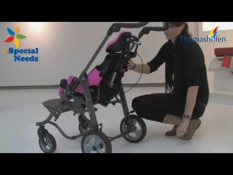 Thomashilfen tRide Adjustment Demo - eSpecial Needs