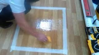 видео Ремонт линолеума + как отмыть линолеум после ремонта