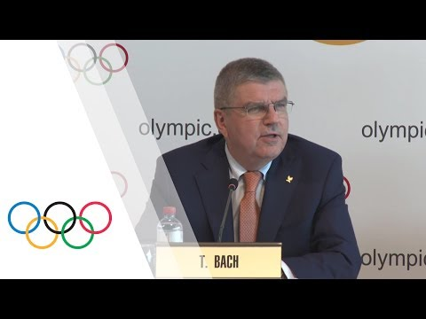 IOC Executive Board – Press conference with IOC President Thomas Bach