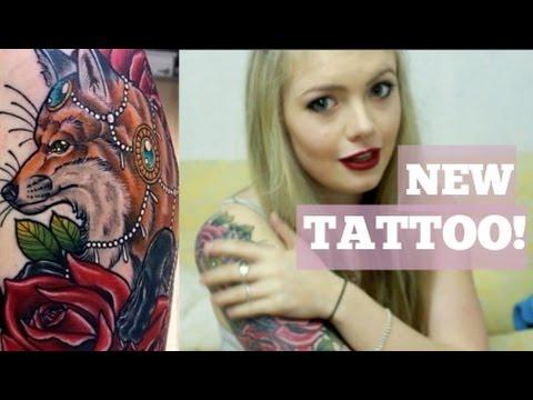 Tattoo Healing Process | Day 1-8 Diary