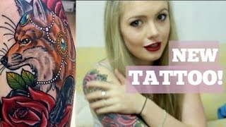 Tattoo Healing Process | Day 1-8 Diary