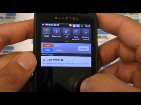 Alcatel one touch 918D Android 2.3.5 dual-sim GSM
