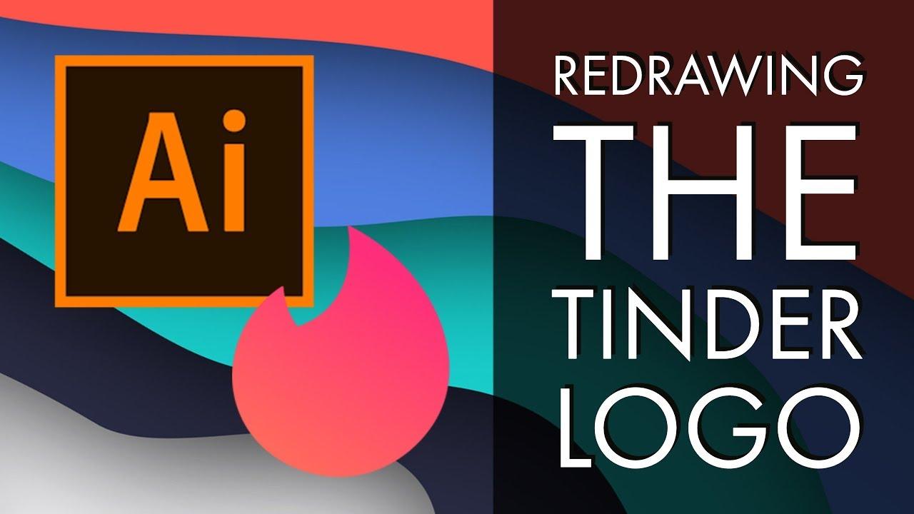 Redrawing the Tinder Logo - Adobe Illustrator CC 2018 [36/39]