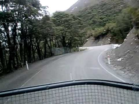 Arthurs Pass in a Truck + Trailer