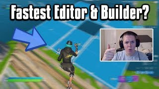 Reacting To The FASTEST Editor In The World! - Fortnite Battle Royale