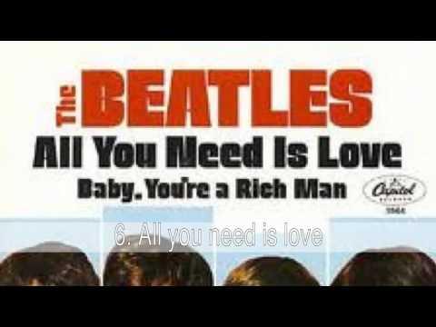 Las mejores canciones de los Beatles