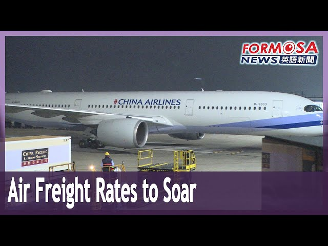 Air freight rates set to soar as pilots grounded