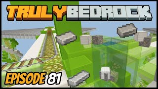 Buying All The Iron And Finishing Up! - Truly Bedrock (Minecraft Survival Let's Play) Episode 81