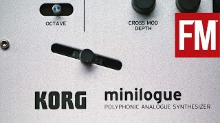 Producer's Guide To... Korg Minilogue: Creating bass, pads and leads