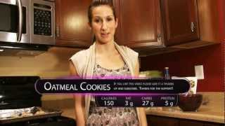 Healthy Guilt Free Oatmeal Cookies