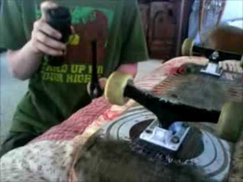 how to clean skatewheels
