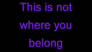 Repeat youtube video Trapt - Headstrong (lyrics)