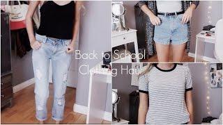 Back to School Clothing Haul 2014! | ZaraForever Thumbnail