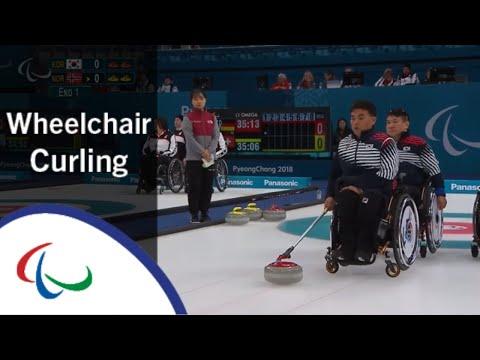 Korea v Norway | Round Robin | Wheelchair curling | PyeongChang2018 Paralympic Winter Games