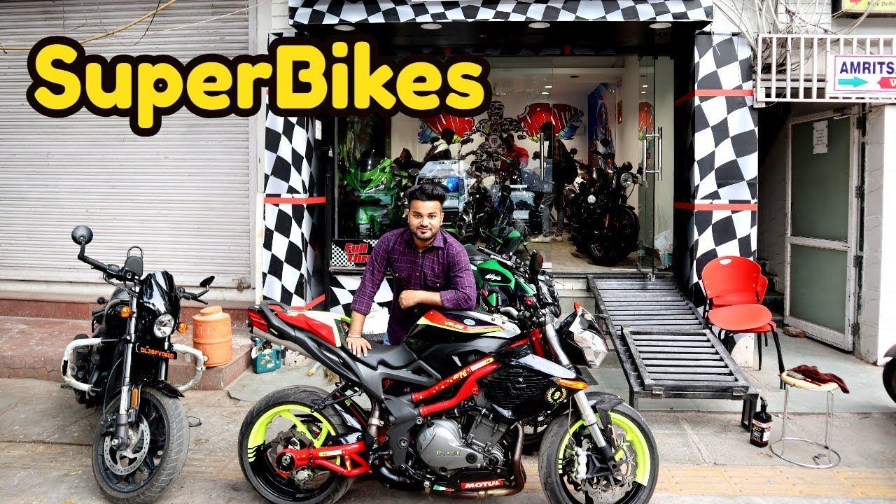 Superbikes In Cheap Price Karol Bagh Market Hayabusa Harley