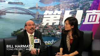 Bill Harmatz - Yong Project Marketing at Australian Property Expo