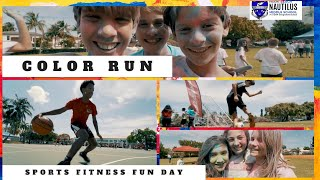 Sports Fitness Fun Day | Nautilus Sharks 2019 | Color Run
