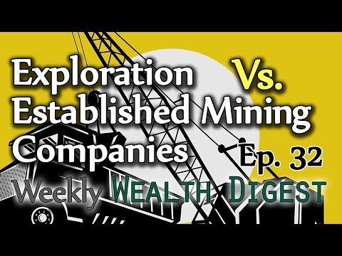 Exploration Vs. Established Mining Companies - WWD Ep. 32 (Weekly Wealth Digest)