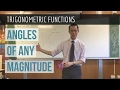 Trigonometric Functions: Angles of Any Magnitude (1 of 2: The unit circle)