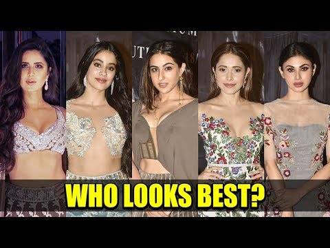 TOP 10 Dresses Of Bollywood Celebs At Manish Malhotra's Show | New Haute Couture Collection 2018-19 Mp3