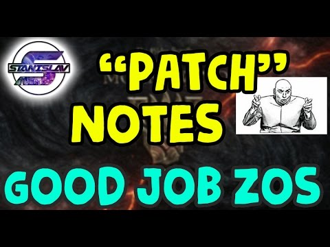 """ESO - Morrowind """"Patch"""" (How to kill a game in one update!)"""
