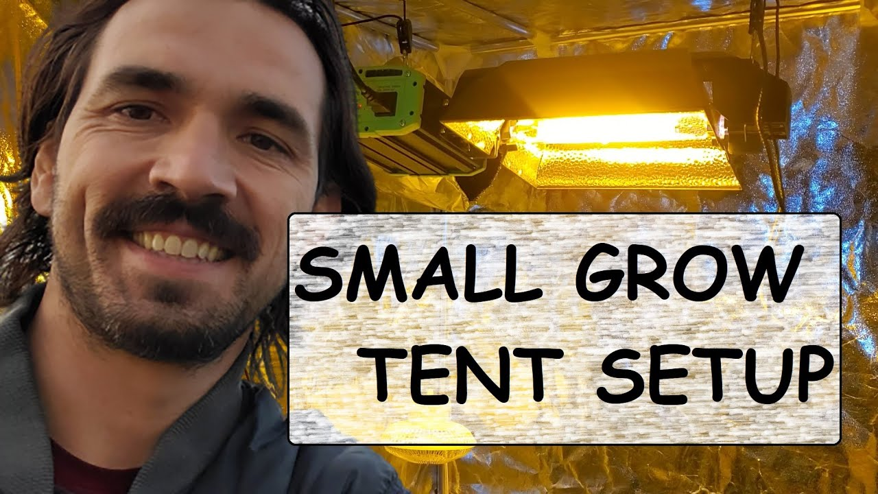 sc 1 st  YouTube & Small Grow Tents: Grow Light u0026 Carbon Filter Setup (no CO2) - YouTube