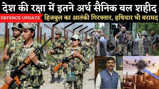 Defence update - jawans of paramilitaries, DRDO  Indigenous Defence System,drdo anti-drone system