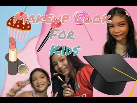 Makeup Look For Kids  (Birthday Party,Graduation Etc.)   Paula Colyn Alvarez