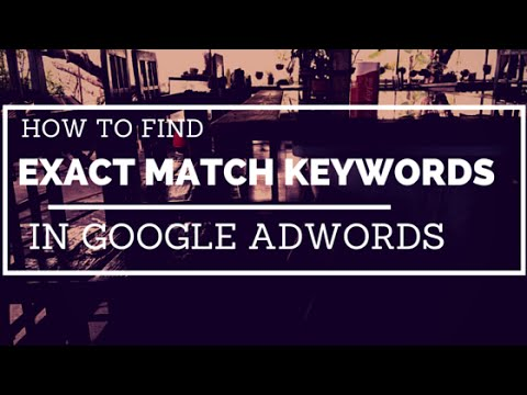 how to add keywords in google adwords