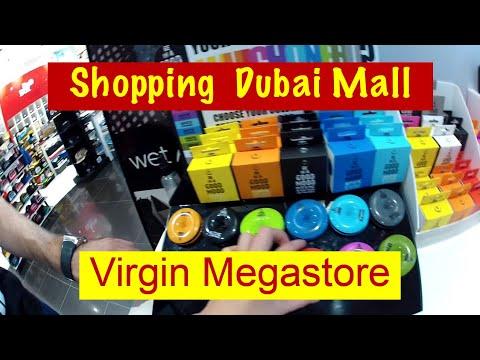 VLOG  Дубай Шоппинг в Virgin Дубай Молл   Shopping In Virgin Megastore  Dubai Mall 86b0bc9d912