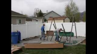 Lifetime Swing Set Assembled In 5 Minutes