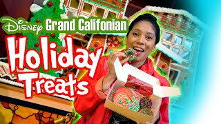 Holiday Treats at Disney's Grand California Hotel! Foodie Feature