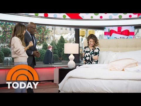 Relaxing Holiday Gift Ideas: Cozy Pajamas, Silk Pillows, Mini Staycation | TODAY