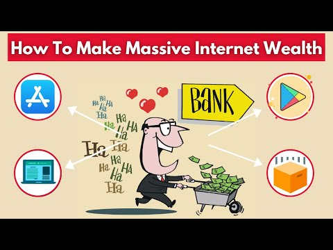 How To Make Massive Wealth With The Internet | How to make money online