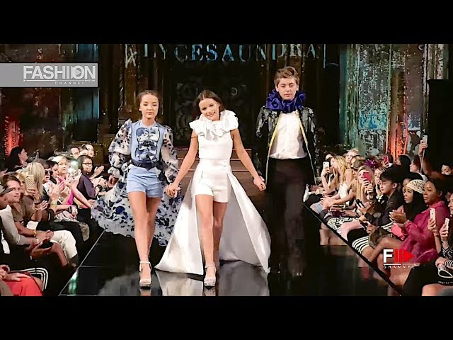 ALYCESAUNDRAL Spring Summer 2019 NYFW by Art Hearts Fashion New York - Fashion Channel