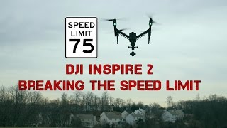 DJI Inspire 2 - Speed Test - Sport Mode is faster than you think