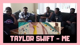 BLACK GUYS REACT TO: Taylor Swift ME! feat. Brendon Urie of Panic! At The Disco