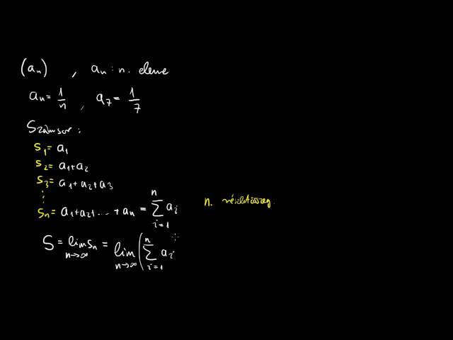 Mik is azok a numerikus sorok, vagyis számsorok?