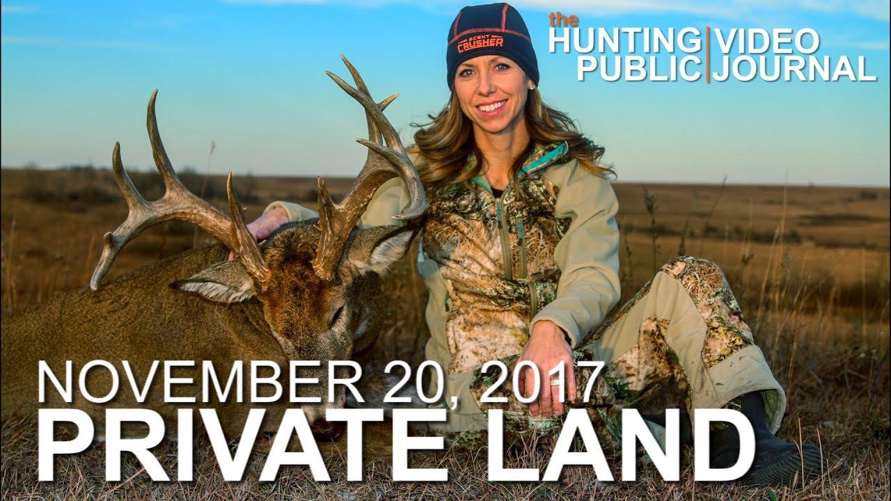 Private Land: Nov  18: Kansas Decoy Hunt, First Bow Buck | The Hunting  Public