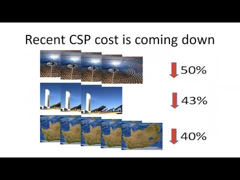 Webinar: Concentrating Solar Thermal Power with Built in Sto