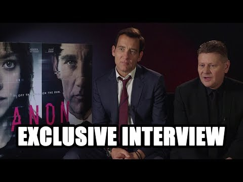 Anon  Clive Owen and Andrew Niccol Exclusive