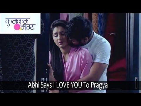 Kumkum Bhagya | 26th September 2016 | Abhi Says I LOVE YOU To Pragya