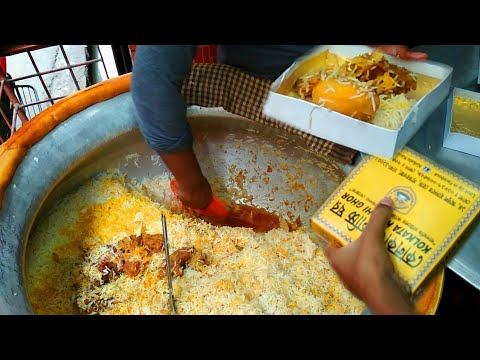 Kolkata Kacchi Biryani - Best Mutton Biryani In Dhaka - Popular Food(Biryani) Tour In Puran Dhaka
