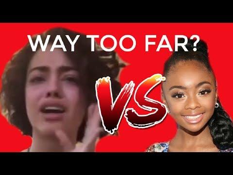 MALU TREVEJO VS. SKAI JACKSON DID SHE GO TOO FAR?