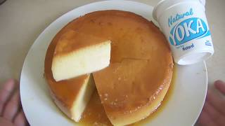 Quesillo o flan  de yogurt