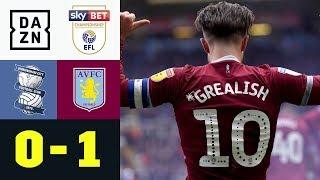 Grealish-Siegtor nach Fan-Attacke: Birmingham - Aston Villa 0:1 | Championship | DAZN Highlights
